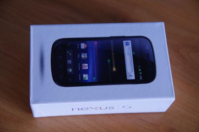 Boite Nexus S - 15 jours avec le Nexus S