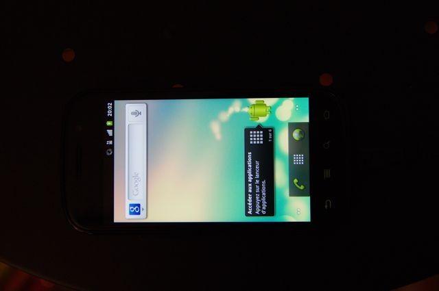 Home Nexus S - 15 jours avec le Nexus S