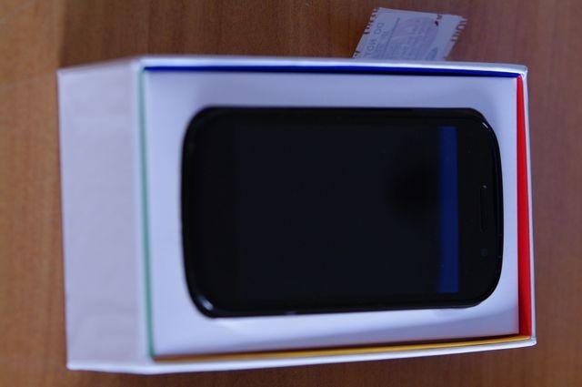 Nexus S dans sa boite