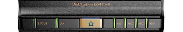 bandeau DS411+II - Synology lance un nouveau NAS 4 baies
