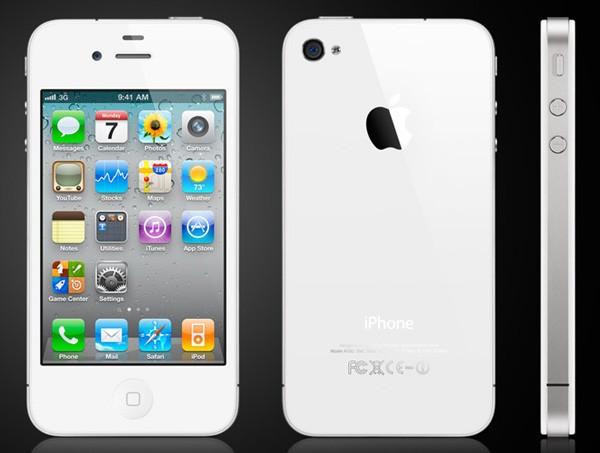 iphone 4 blanc - L'iPhone 4 blanc est disponible
