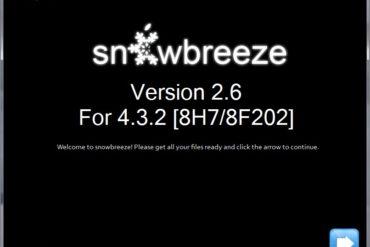 sn0wbreeze v2.6 370x247 - Jailbreak iOS 4.3.2