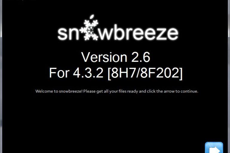 sn0wbreeze v2.6 770x513 - Jailbreak iOS 4.3.2