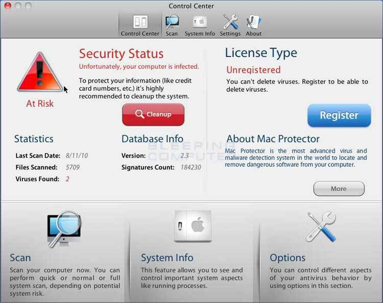 Mac Protector - Vague de Malwares ciblent les Mac