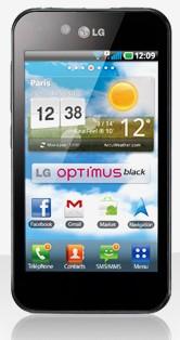 Optimus Black - LG Optimus Black arrive...