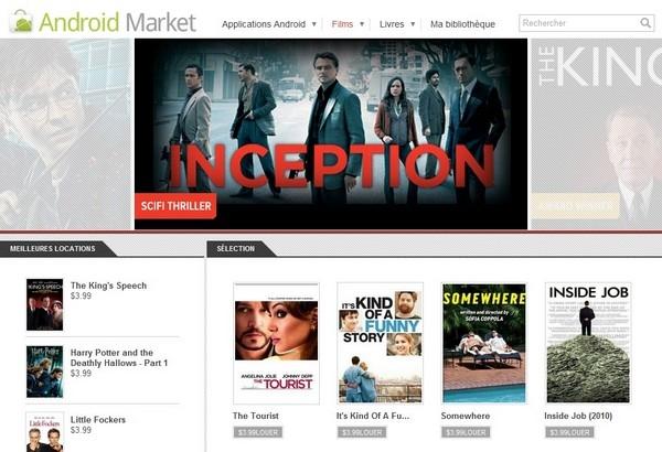 Video a la demande Google - VOD Google et ROM personnalisée
