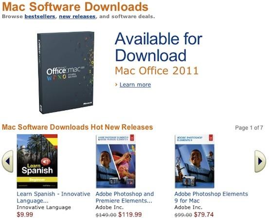 amazon mac store - Amazon lance son Mac Store avec plus de 250 titres