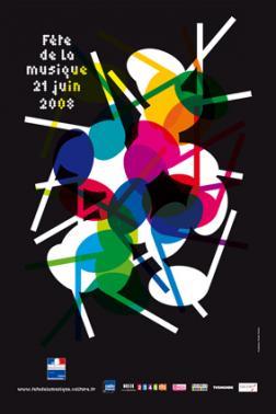 fete de la musique 2008 - OMG : Affiche pour la fête de la musique 2011