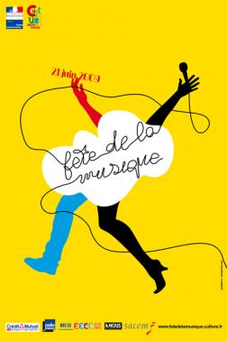 fete de la musique 2009 - OMG : Affiche pour la fête de la musique 2011