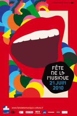 fete de la musique 2010 - OMG : Affiche pour la fête de la musique 2011