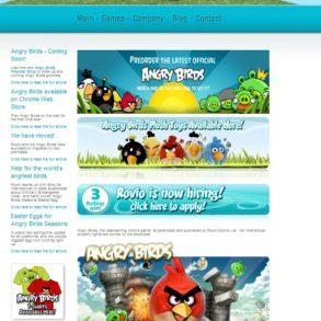 page accueil rovio 293x293 - Rovio veut entrer en Bourse