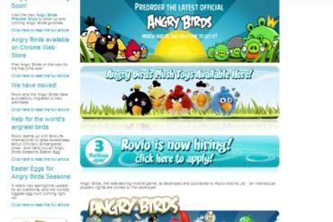 page accueil rovio 370x247 - Rovio veut entrer en Bourse