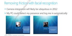 reconnaissance faciale Windows 8