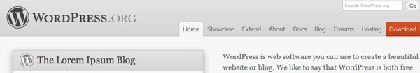 Bandeau Wordpress - Wordpress 3.2 est enfin disponible