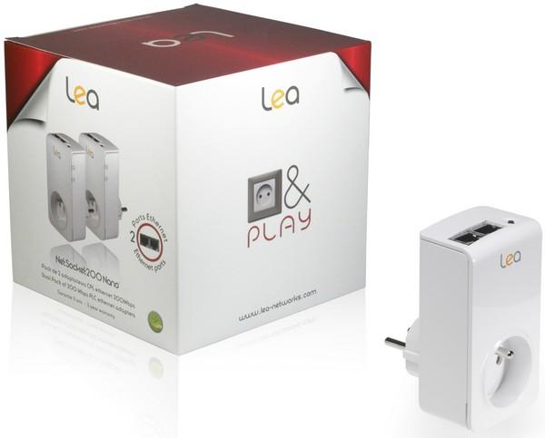 CPL Lea NetSocket200 Nano - Nouveaux CPL performants chez LEA