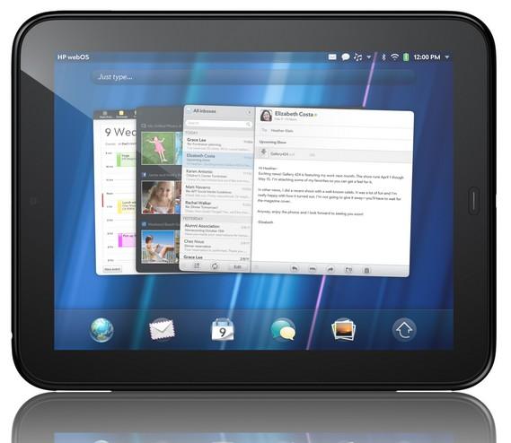 HP TouchPad Cartes - HP TouchPad débarque en Juillet