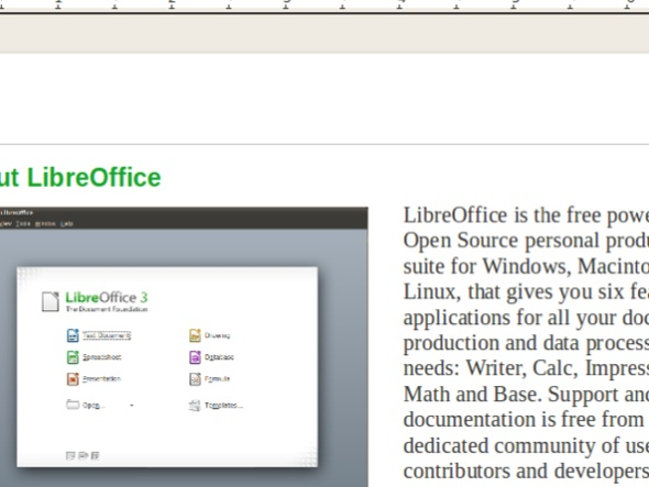 LibreOffice 3.4.0 - LibreOffice passe en version 3.4.0