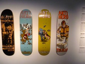 Planche Skateboard artistique