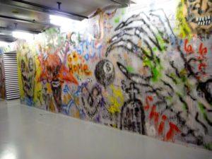 Culture de la rue, Tags mur