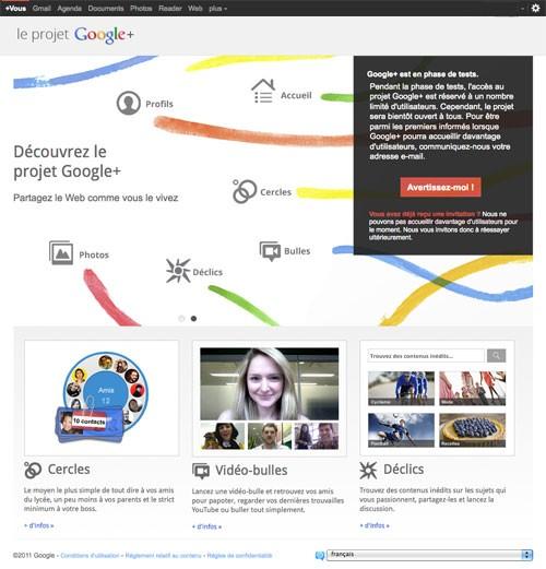 google plus - Google+, le réseau social de Google