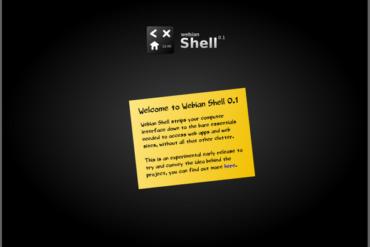 webian shell 370x247 - Webian Shell - Une alternative à Chrome OS ?