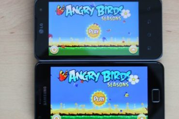 Angry Birds Samsung Galaxy S 2 LG Optimus 2X 370x247 - Galaxy S II : Meilleur smartphone du marché ?