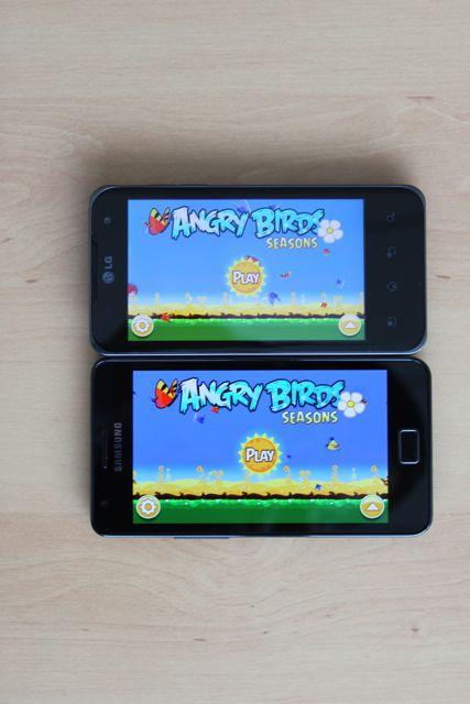 Angry Birds Samsung Galaxy S 2 LG Optimus 2X - Galaxy S II : Meilleur smartphone du marché ?