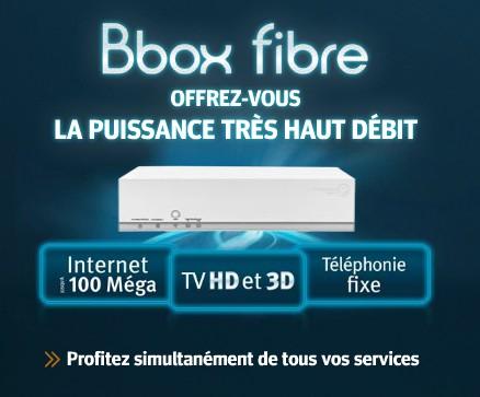 BBOX Fibre - Appels illimités vers les mobiles pour la Bbox Fibre