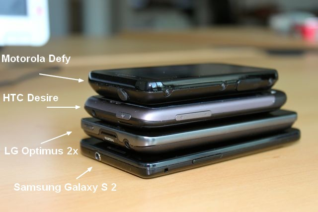 Comparaison Samsung Galaxy S2 - Galaxy S II : Meilleur smartphone du marché ?