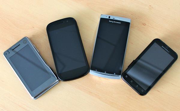 Comparaison Xperia Arc 2 - Une semaine avec le Sony Ericsson Xperia ARC