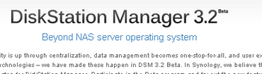 DSM 3 370x105 - DiskStation Manager 3.2 arrive en Beta