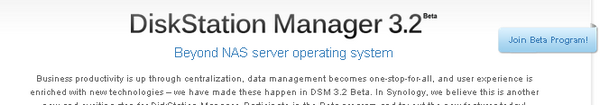 DSM 3 - DiskStation Manager 3.2 arrive en Beta