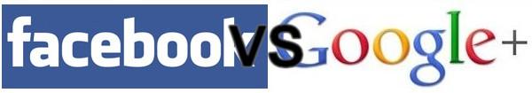 Facebbok VS Google - Google VS Facebook : La guerre est lancée
