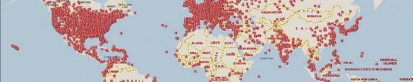 Map Botnet - De nombreux PC sont encore infectés après l'arrêt de Rustock