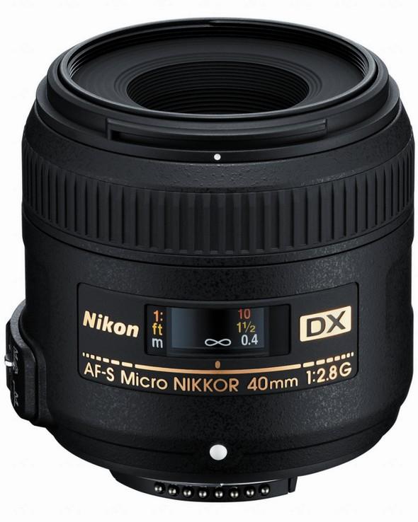 Nikkor DX 40mm 2.8 G - Nouvel objectif NIKKOR 40mm f2.8