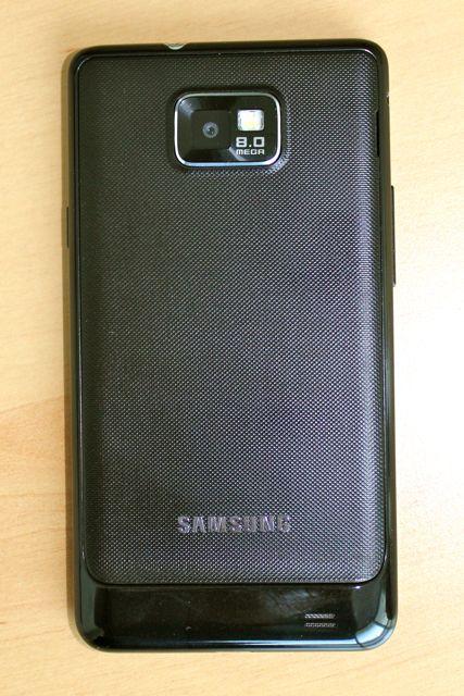 Samsung Galaxy S 2 Arriere - Galaxy S II : Meilleur smartphone du marché ?