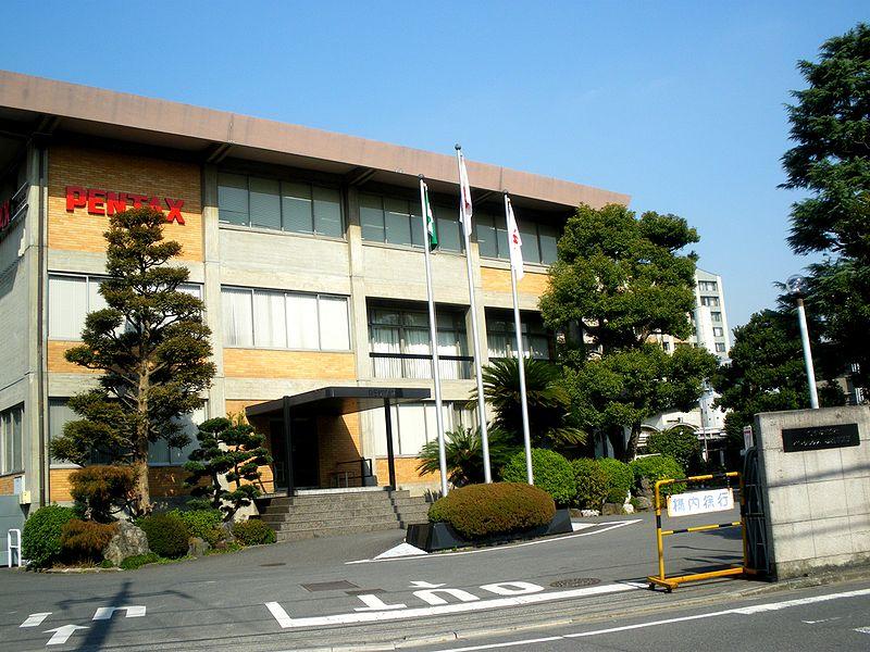Siege Pentax Tokyo Japon - Interview du Responsable Communication chez Pentax