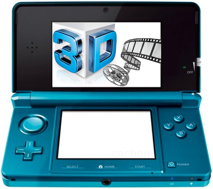 VOD 3D sur la Nintendo 3DS - La 3DS se met à jour pour Noël...
