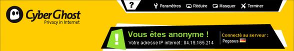 bandeau CyberGhost - CyberGhost vous offre un VPN gratuit