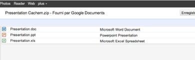 bandeau archive ZIP Documents 390x121 - Ajout du support des fichiers ZIP et RAR dans Google Docs