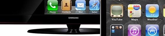 bandeau iPhone et ecran - Comment activer le miroir vidéo sur l'iPhone 4, iPod touch 4G et iPad 1