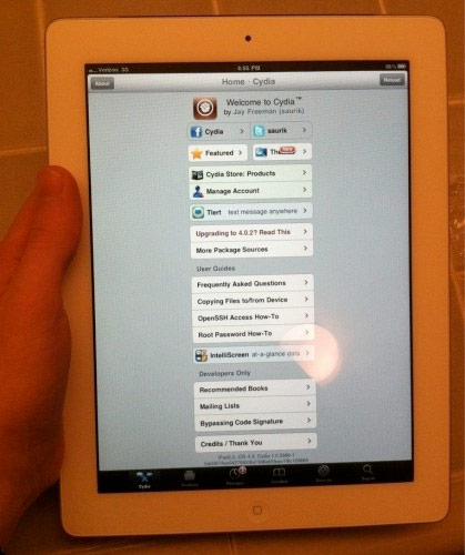 iPad 2 et Cydia