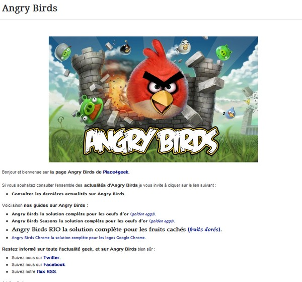 index angry birds oeufs dor - Angry Birds et les Oeufs d'Or…