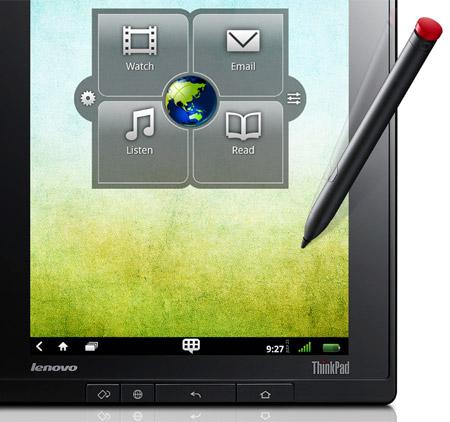 lenovo thinkpad tablet zoom - ThinkPad Tablet annoncé en France
