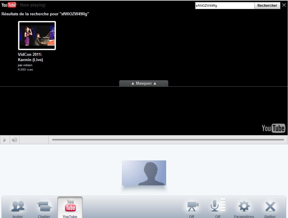 visionner direct dans une video bulle Google Plus - Regarder un live dans une bulle (Hangout)