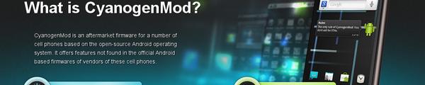CyanogenMod - CyanogenMod 7 sur une TouchPad : Wi-Fi, Son & Accéléromètre