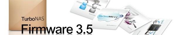 bandeau QNAP TurboNAS Firmware 3.5 - QNAP TurboNas Firmware 3.5