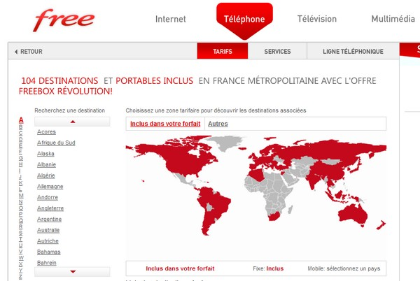 free telephonie - Si t'as Free, t'as pas tout compris