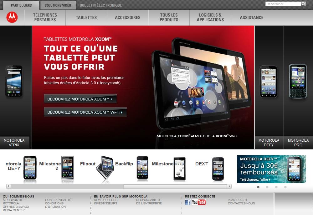motorola site web