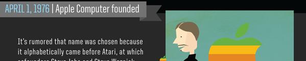 ode steve jobs - Steve Jobs résumé en une infographie